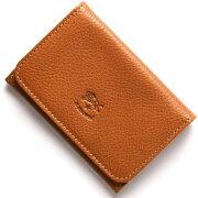 イルビゾンテ IL BISONTE カードケース スタンダード 【STANDARD】 キャメルブラウン C0470 P 145 メンズ レディース