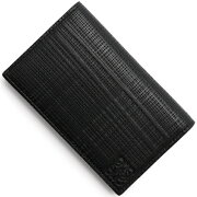 ロエベ LOEWE カードケース リネン 【LINEN】 ENGRAVED ブラック 101 88 1100 L56 2016年春夏新作 メンズ レディース