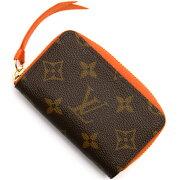 ルイヴィトン Louis Vuitton カードケース/コインケース【小銭入れ】 モノグラム ミュルティカルト チョコレートブラウン&ピモンオレンジ M60908 レディース