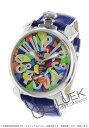 ガガミラノ マヌアーレ48MM モザイク 腕時計 メンズ G...