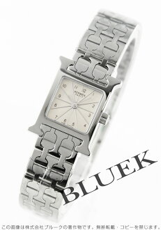 Hermes H Watch Silver ladies mini HH1.110.260/4835