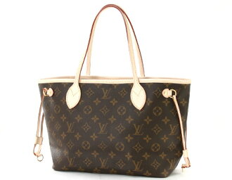 Louis Vuitton LOUIS VUITTON Monogram neverfull PM handbag dark brown M40155