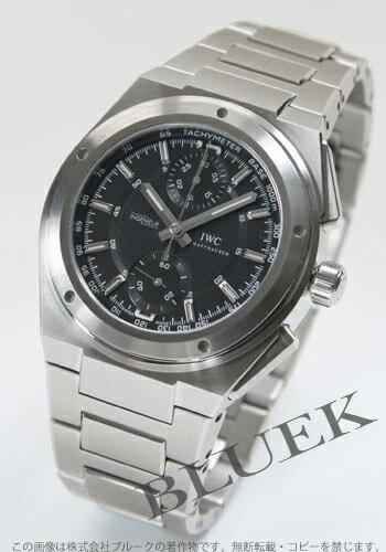 IWC Ingenieur automatic chronograph black mens 3725-01