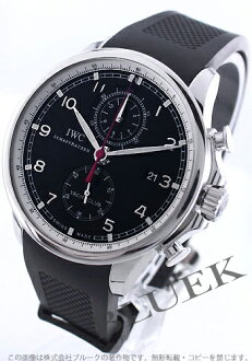 IWC Portuguese Yacht Club automatic chronograph rubber black mens IW390204