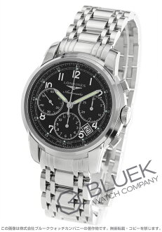 Jin Ron Mie Santi automatic chronograph black men L2.752.4.53.6