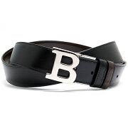 バリー BALLY ベルト B BUCKLE 35 M リバーシブル ブラック&ダークブラウン B BUCKLE 35 M 290 メンズ