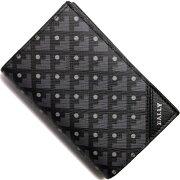 バリー BALLY カードケース【名刺入れ】 SILBEREN ブラック SILBEREN 10 メンズ