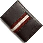 バリー BALLY カードケース【名刺入れ】 TIANSON チョコレートブラウン TIANSON 271 メンズ
