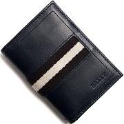 バリー BALLY カードケース【名刺入れ】 TIANSON ニューブルー TIANSON 517 メンズ