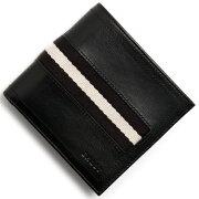 バリー BALLY 二つ折財布 TYE ブラック TYE 290 メンズ