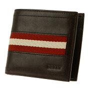 バリー BALLY 二つ折財布 ダークブラウン TYEUS 271 【メンズ】