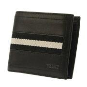 バリー BALLY 二つ折財布 ブラック TYEUS 290 【メンズ】