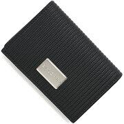 ブルガリ BVLGARI カードケース【名刺入れ】 ミレリゲ 【MILLERIGHE】 ブラック 27694