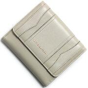 ブルガリ BVLGARI 二つ折財布 ビーゼロワン 【B-ZERO1】 アイボリー 33769 レディース
