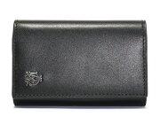 ダンヒル dunhill ウェセックス 【WESSEX】 カーフレザー キーケース ブラック L2R350A 【メンズ】