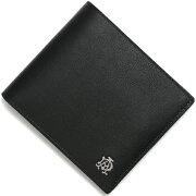 ダンヒル dunhill 二つ折財布 リーブス 【REEVES】 ブラック L2XR32 A メンズ