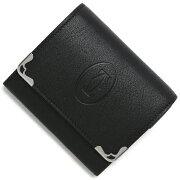 カルティエ Cartier コインケース【小銭入れ】 マLWCAL3001372スト 【MUST】 ブラック L3001372 メンズ レディース