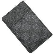 ルイヴィトン LOUIS VUITTON カードケース【名刺入れ】 ダミエグラフィット グレー N62666 メンズ