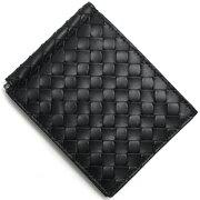 ボッテガヴェネタ BOTTEGA VENETA 二つ折財布【札入れ】 イントレチャート 【INTRECCIATO】 ブラック 123180 V4651 1000 メンズ