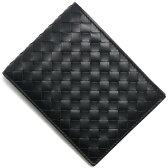 ボッテガヴェネタ BOTTEGA VENETA 二つ折財布【札入れ】 イントレチャート 【INTRECCIATO】 ブラック 123226 V4651 1000 メンズ