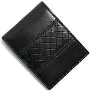 ボッテガヴェネタ BOTTEGA VENETA 二つ折財布【札入れ】 スコルピート ブラック 123226 VT272 1000 メンズ