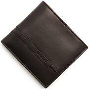 ブルガリ BVLGARI 二つ折財布 オクト 【OCTO】 モカブラウン 35375 メンズ