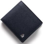 ダンヒル DUNHILL 二つ折財布 ボードン 【BOURDON】 ネイビー&ブルー L2W232 N メンズ