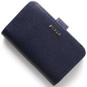 フルラ FURLA 二つ折財布 バビロン 【BABYLON】 ネイビー PN12 B30 DRS レディース