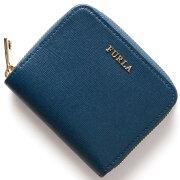 フルラ FURLA 二つ折財布 バビロン 【BABYLON】 ブルーギネプ PR71 B30 BL7 レディース