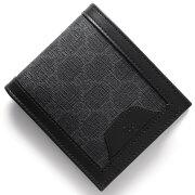 グッチ GUCCI 二つ折財布 GGスプリーム グレー&ブラック 365470 KGDHR 1078 メンズ