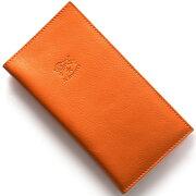 イルビゾンテ IL BISONTE 長財布 スタンダード 【STANDARD】 オレンジ C0616 P 166 メンズ レディース
