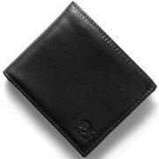 イルビゾンテ IL BISONTE 二つ折財布 スタンダード 【STANDARD】 ブラック C0817 P 153 メンズ レディース
