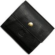 イルビゾンテ IL BISONTE 二つ折財布 ブラック C0910 P 135 メンズ レディース