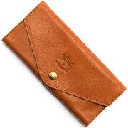 イルビゾンテ IL BISONTE 長財布 キャメルブラウン C0939 P 145 メンズ レディース