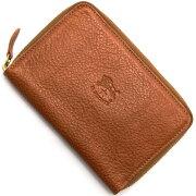 イルビゾンテ IL BISONTE 二つ折財布 コニャックブラウン C0944 P 214 メンズ レディース