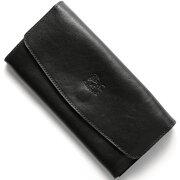 イルビゾンテ IL BISONTE 長財布 スタンダード 【STANDARD】 ブラック C0973 P 153 メンズ レディース