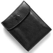 イルビゾンテ IL BISONTE 三つ折財布 スタンダード 【STANDARD】 ブラック C0976 P 153 メンズ レディース