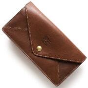 イルビゾンテ IL BISONTE 長財布 スタンダード 【STANDARD】 チョコレートブラウン C0987 SL 635 メンズ レディース