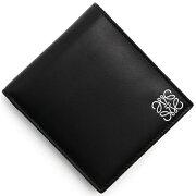 ロエベ LOEWE 二つ折財布 スタンプ 【STAMP】 BIFOLD ブラック 109 54 1100 501 メンズ