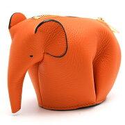 ロエベ LOEWE コインケース【小銭入れ】 アニマル 【ANIMAL】 ELEPHANT オレンジ 199 30J 9100 G73 2016年春夏新作 レディース