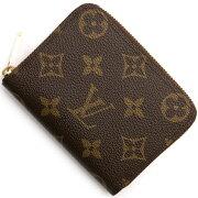 ルイヴィトン Louis Vuitton コインケース【小銭入れ】 モノグラム ジッピー パース チョコレートブラウン M60067 メンズ レディース