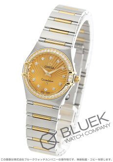 Omega Constellation 111.25.26.60.58.001 DIA Basel YG Combi gold ladies