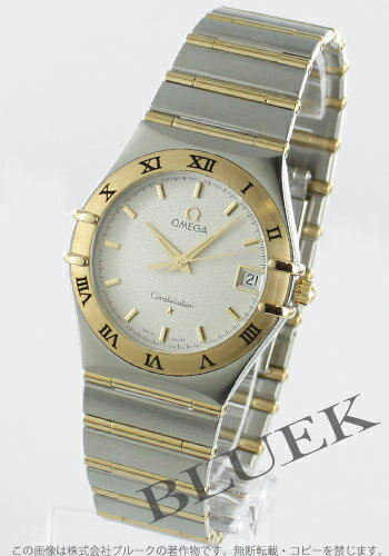 Omega Constellation 1212.30 YG Combi silver mens