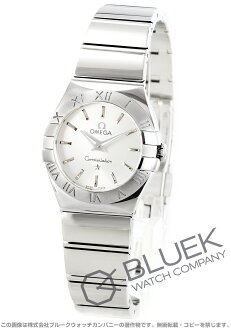 Omega Constellation polished 123.10.24.60.02.002 silver ladies