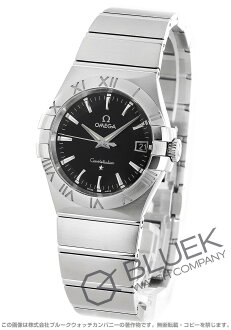 Omega Constellation black mens 123.10.35.60.01.001