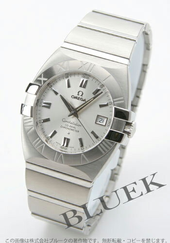 Omega Constellation double eagle co-axial 1503.30 chronometer silver mens