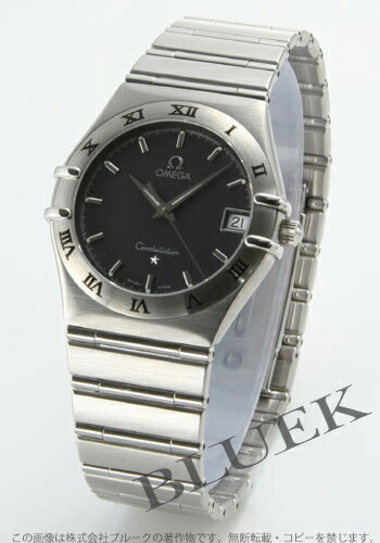 Omega Constellation 1512.40 blue grey mens