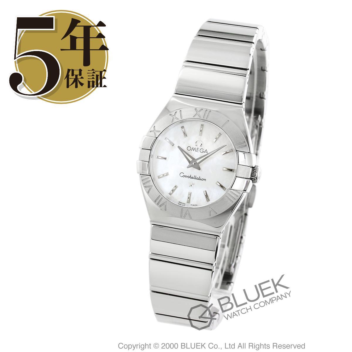 オメガ コンステレーション ポリッシュ 腕時計 レディース OMEGA 123.10.24.60.05.002_8