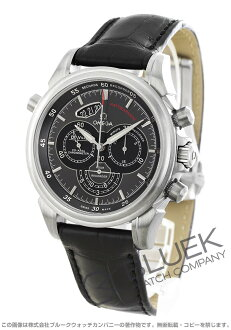 Omega-Omega Devil scope Chrono Rattrapante alligator leather mens 422.13.44.51.06.001