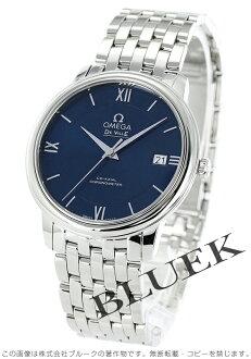 424.10.37.20.03.001 オメガデビルプレステージコーアクシャルクロノメーターブルーメンズ watch clock